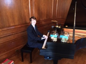 Sam Gingher Krannert Debut winning pianist