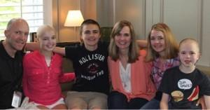 Matt Jones and family