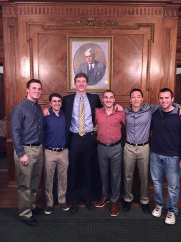 Gamma Zeta Elects New Executive Officers 1 (2-25-2015)