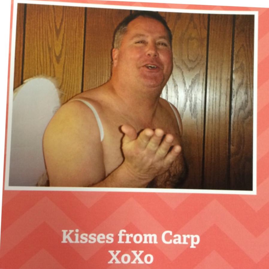 u201c12 months of carp u201d calendar